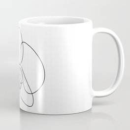 One-Line Orchid Coffee Mug