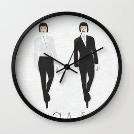 I love Paris. Do you? Wall Clock
