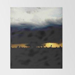 Wall Cloud Throw Blanket