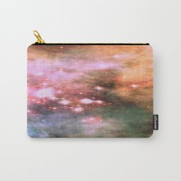 Colorful Pink Sparkle Carina Nebula Abstract Carry-All Pouch