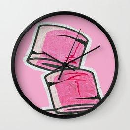 Pink Loo Too Wall Clock