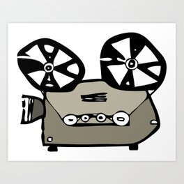 video projector Art Print