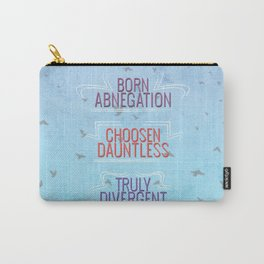 Truly Divergent Carry-All Pouch
