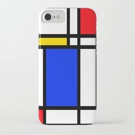Mondrian iPhone Case