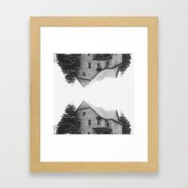 up:house:down Framed Art Print
