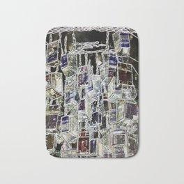 Abstract cityscape Bath Mat