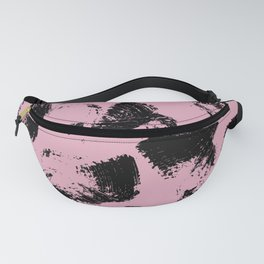 Blush and Black Fanny Pack