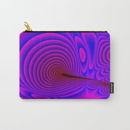 Fractal Ripples Carry-All Pouch