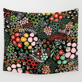 Winter Bouquet Wall Tapestry