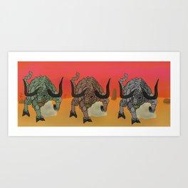 Gorgons Art Print