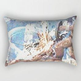 Battle with werewolf Rectangular Pillow