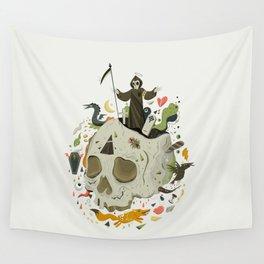 Thanatophobia Wall Tapestry