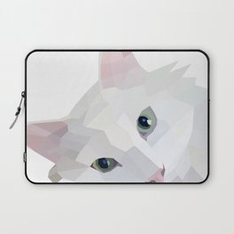 Minimalist Meows Laptop Sleeve