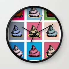 Contemporary art Wall Clock