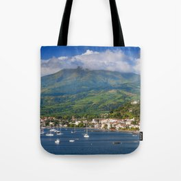 Saint Pierre, Martinique Tote Bag