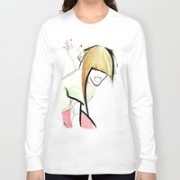 girl power Long Sleeve T-shirts featuring Girl Power by Juan I. Scocozza