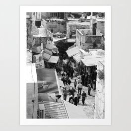 The Old City Art Print