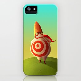 Bullet Man iPhone Case