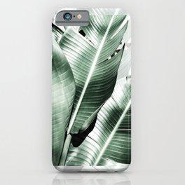 Banana leaf akin iPhone Case