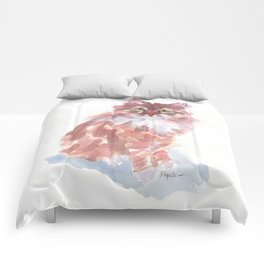 Ginger Peach Comforters