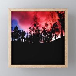 Intense mountain. Framed Mini Art Print