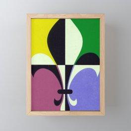 Fleur de Lis 3 Framed Mini Art Print