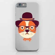 Hipster Dog iPhone 6s Slim Case