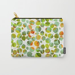 nice_feuilles_Clair Carry-All Pouch