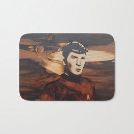 Leonard Nimoy alias Mr. Spock Bath Mat