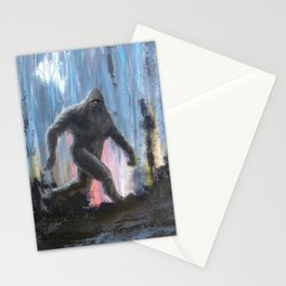 Bigfoot at Twilight Stationery Cards