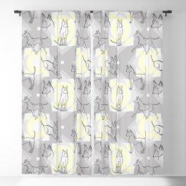 Thai Ridgeback Pattern Blackout Curtain