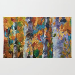 Birch trees - 1 Rug