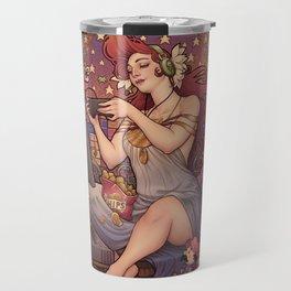 Gamer girl Nouveau Travel Mug