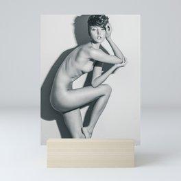5765 Natasha Au Naturel - Boudoir Eros Studio Beauty Nude Mini Art Print