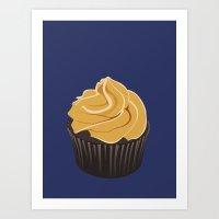 cupcake Art Prints featuring Cupcake by kourai