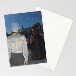 the adventures of Ghost Abe and me in Damnville Stationery Cards