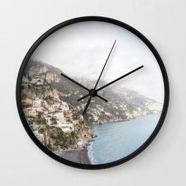 Positano, Amalfi Coast Wall Clock