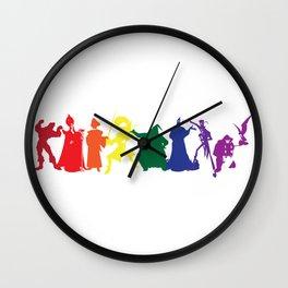 Menacing Men Wall Clock
