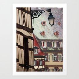 Colmar Art Print