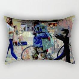 Bologna street Rectangular Pillow