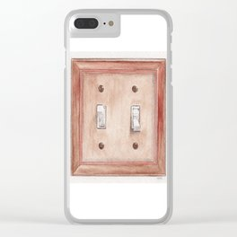 On / Off Clear iPhone Case
