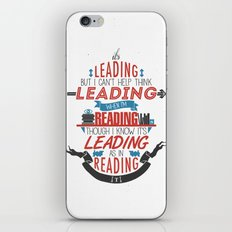 It's Leading iPhone & iPod Skin