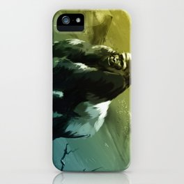 Protector of the Gorilla Domain iPhone Case