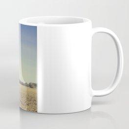 Lonely Field in Blue Coffee Mug
