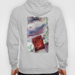 Carré rouge Hoody