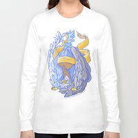 libra Long Sleeve T-shirts featuring Libra by SinisterSquids