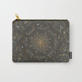 Cosmic Breath - Dot Mandala Carry-All Pouch