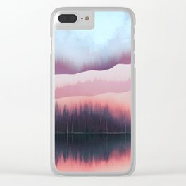 Valentine Forest Clear iPhone Case