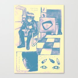 Soft Lead Canvas Print