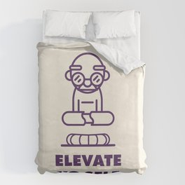 Elevate Yo Self Duvet Cover
